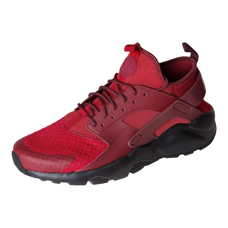 NIKE Mens Huarache Run Ultra Running Shoes B00IGPICWE 10.5 D(M) US|Tough Red/Dark Team Red-black White/Bright Magenta-metallic Silver-volt