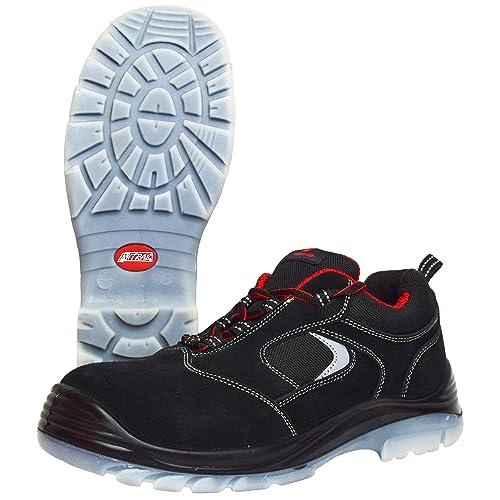 Zapatillas de Trabajo Nitras 7310 Easy Step I - Zapatillas de Seguridad S1P para Hombre Mujer - Gorra con Punta de Acero Resistente al Agua y ...