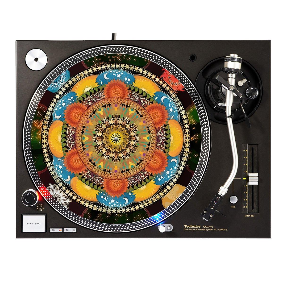 All Seasons - DJ Turntable Slipmat Sunshine Design Cases Slipmat-245