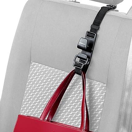 Kewago Auto Handtaschenhalter Handtaschen Und Taschenhaken Für Die Autositz Kopfstütze Kleiner Aufhänger Großer Innenausstattung Nutzen Praktischer Halter Auch Für Die Einkauftasche Universell Auto
