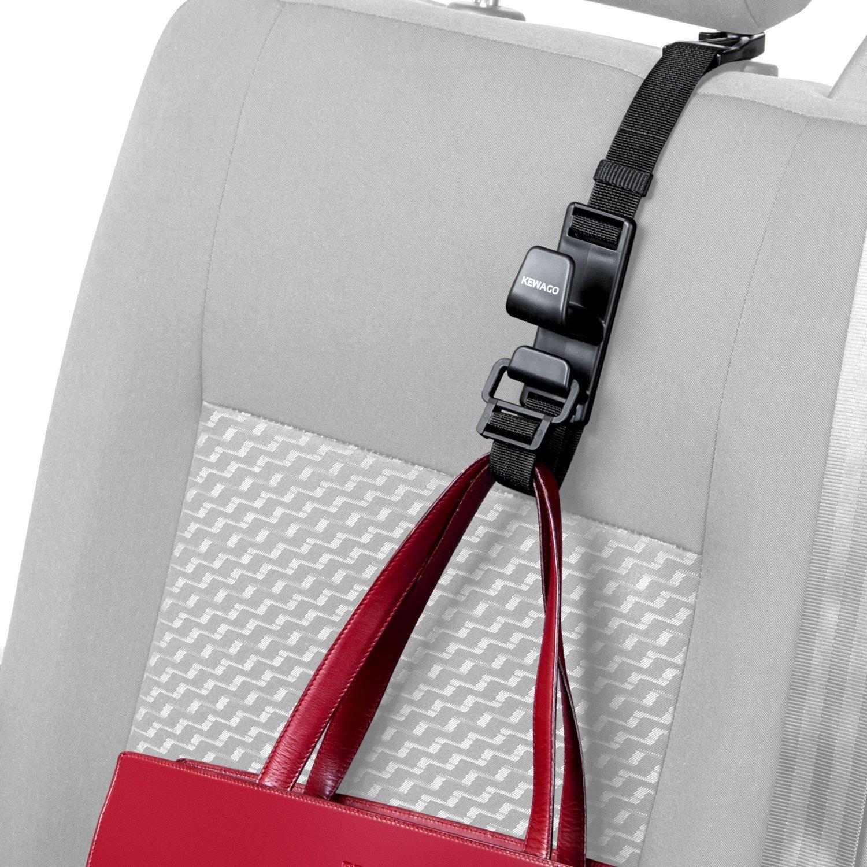 Kewago Auto-Handtaschenhalter. Der clevere Handtaschen Haken für die Kopfstütze FK Ecommerce GmbH
