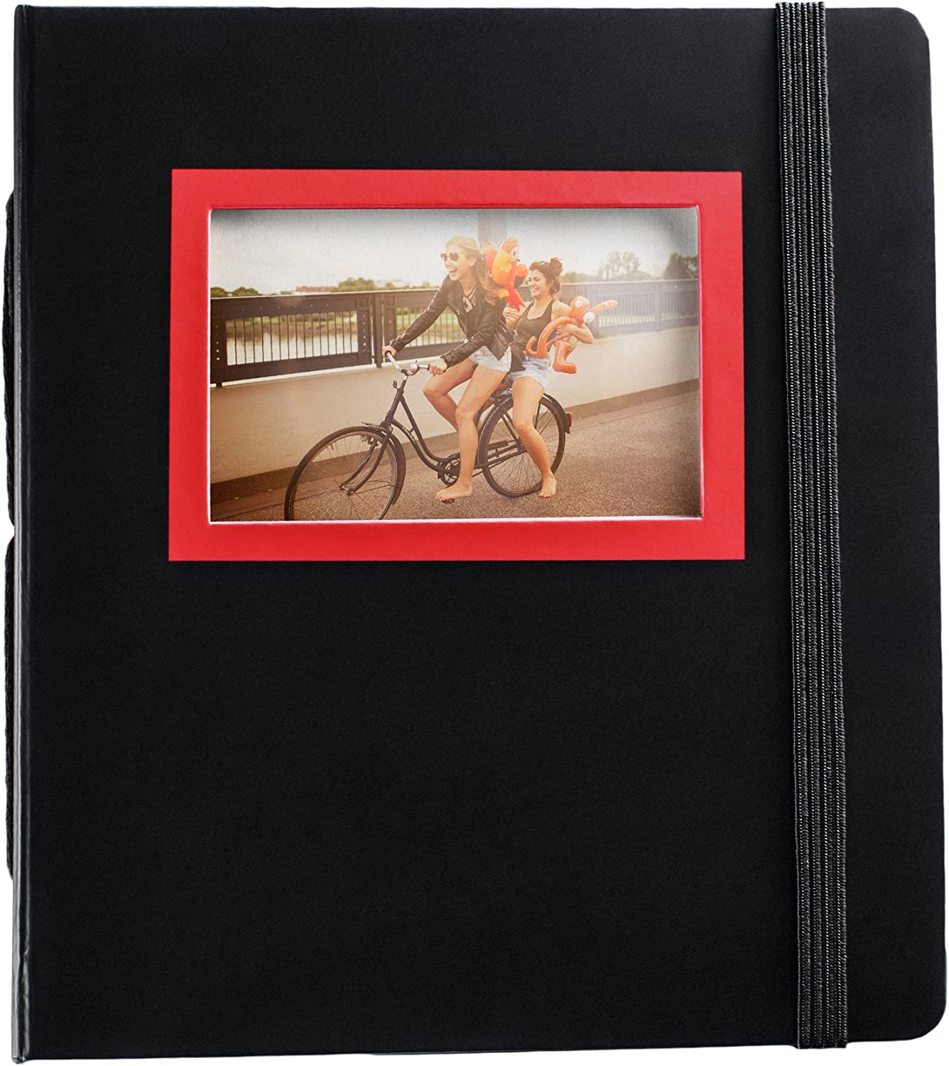 HP Sprocket Red and Black Photo Album (2HS30A)