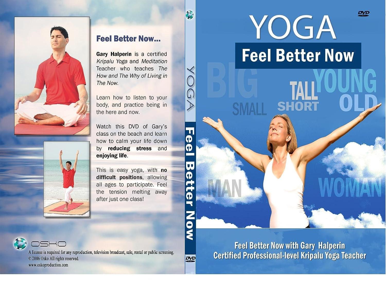 Amazon Com Feel Better Now Yoga With Kripalu Yoga Teacher Gary Halperin Gary Halperin Gary Halperin Movies Tv