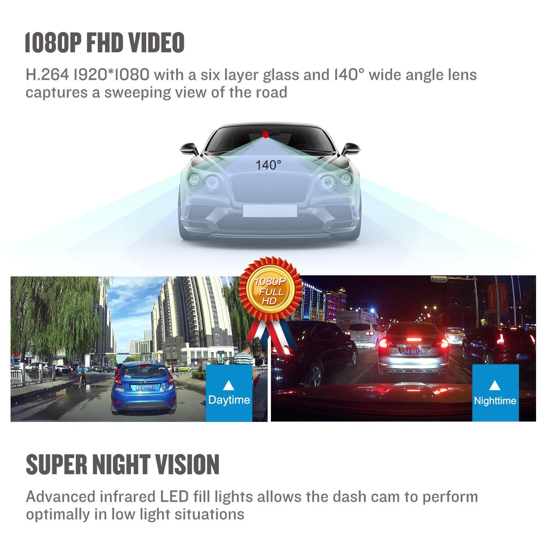Amazon Dash Cam Driving Recorder Delabest Full HD 1080P Mini