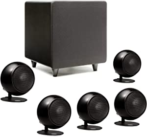 Orb Audio: Mod1 Mini 5.1 Home Theater Speaker System - Surround Sound System - Includes 5 Orbs and 9'' Subwoofer - Great for Movies & Music, Outperforming Larger Subwoofers - Handmade in The US