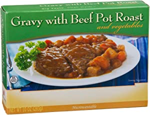 Healthwise Gravy with Beef Pot Roast and Vegetables, 10 oz.
