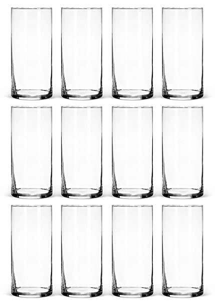 Amazon Glass Cylinder Vases Bulk Set Of 12 For Wedding
