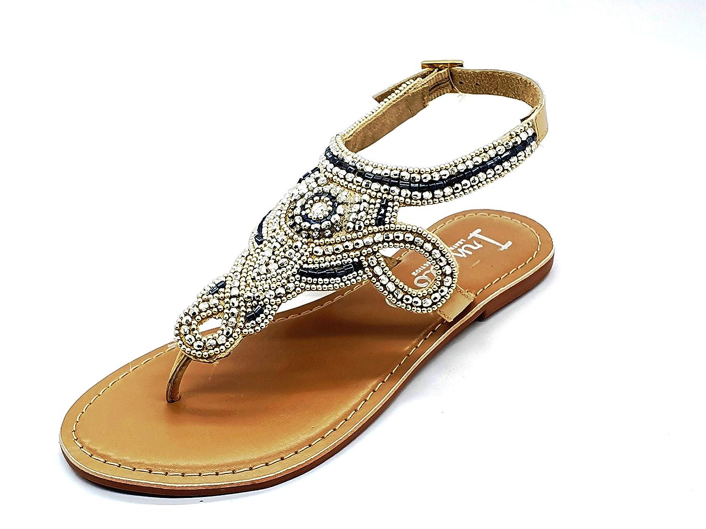 Buy irnado Ankle Strap Golden Leather