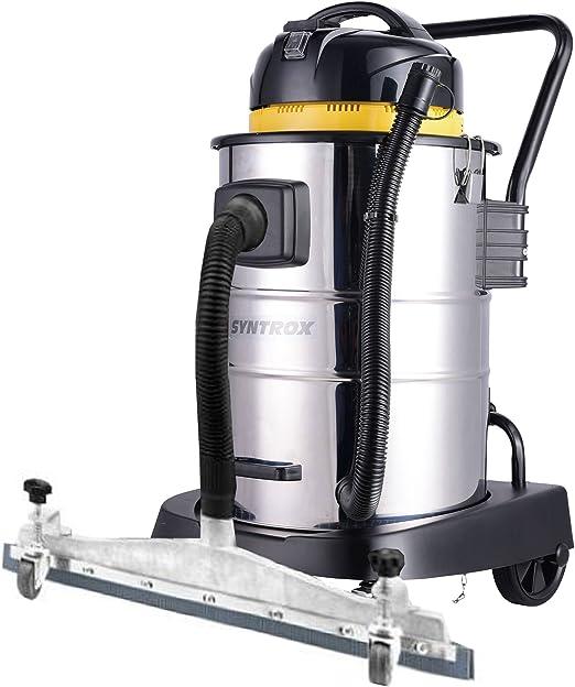Syntrox Germany - Aspiradora de mano (50 L, acero inoxidable ...