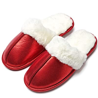 Amazon.com   COCOHOME Women's Home Slippers, Fashion Memory Foam Soft Warm Non-Slip Indoor Outdoor Comfort House Shoes   Slippers