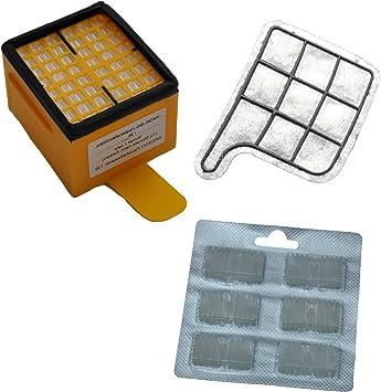 Filterset 6 Staubbeutel Tüten geeignet Vorwerk Kobold 135 136