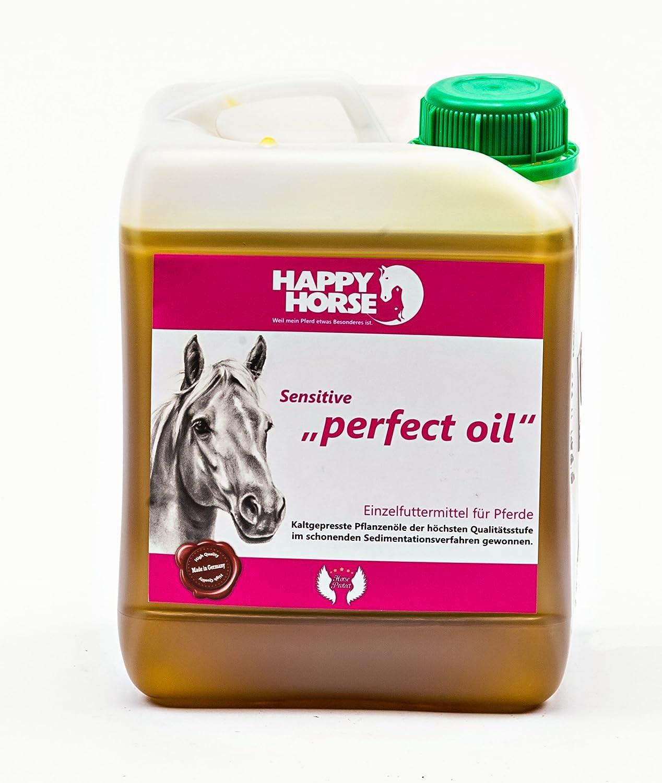 Huile de lin et plus encore. Perfect Oil la Mélange Spéciale pour chevaux 2, 5l
