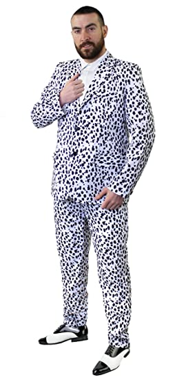 I Love Fancy Dress ilfd4579 dálmata impresión traje disfraz ...