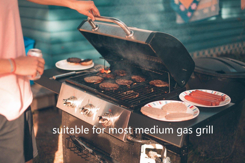 Funda para Barbacoa Impermeable, Awnic Funda Protector para Barbacoa de Gas 210T Tafetán Resistente 145 x 61 x 117cm: Amazon.es: Jardín