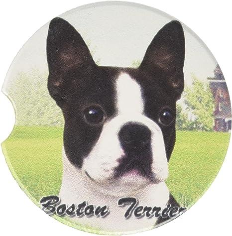 E S Pets Boston Terrier Coaster 3 X 3 Pet Supplies