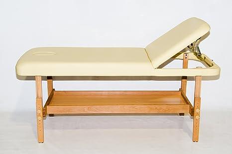 Lettino Fisso Da Massaggio.Lettino Da Massaggio Fisso A Due Zone Con Ripiano Molto Stabile Ed
