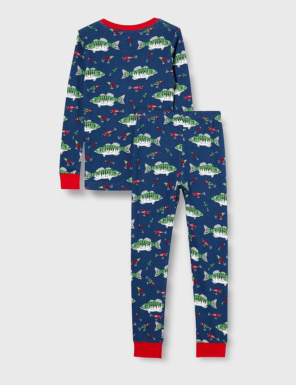 Hatley Long Sleeve Printed Pajama Set Pigiama Bambino