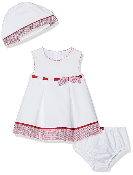 Mayoral 1836, Vestido para Bebés, Rojo (Amapola 82), 55 (Tamaño del ...