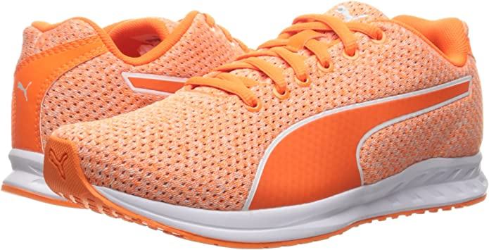 Zapatillas de running de mujer Heather WNS Burst, Naranja impactante / Violeta gris / Naranja impactante, 9.5 M US: Amazon.es: Zapatos y complementos