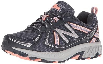 Balance Women's WT410v5 Cushioning Trail Running Shoe Steel 5 B US