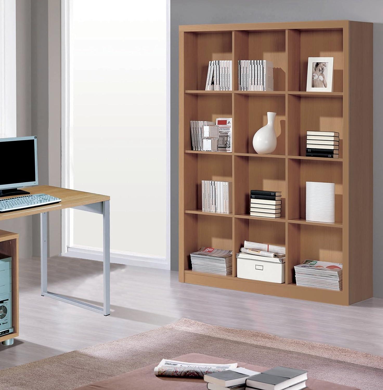 Abitti Estantería o librería grande para oficinas color ...