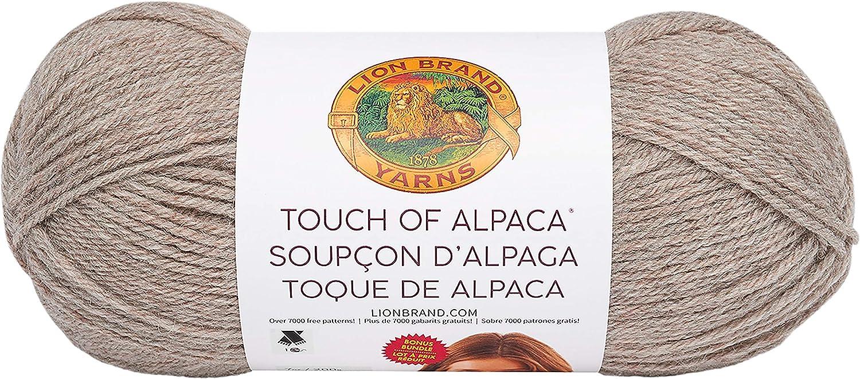 Lion Brand Yarn 124-110 Touch of Alpaca Bonus Bundle Yarn Navy