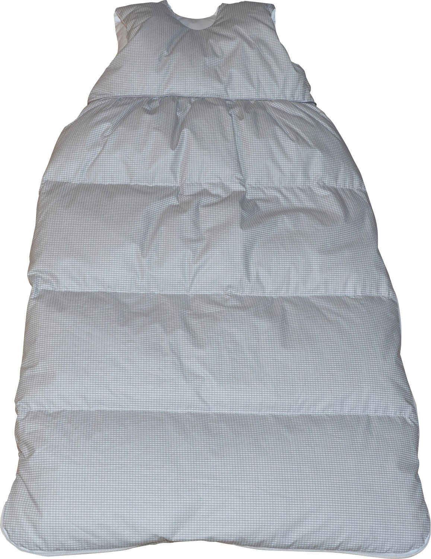 Baby Butt Daunenschlafsack grau Größe 65x105 cm