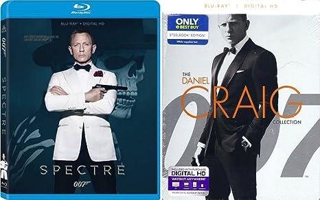 8432f39e9f032 Amazon.com: Spectre Blu Ray & Daniel Craig Collection Steelbook ...