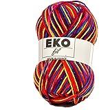 UTE - Pelote de laine à tricoter Eko fil color - OKE ! - Multicolore 324