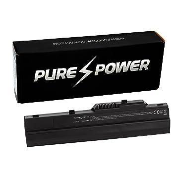 PURE⚡POWER® EXTENDED Batería del ordenador portátil para LG X110-L.A740B (10.8/11.1V, 6600 mAh, negro, 9 celdas): Amazon.es: Electrónica