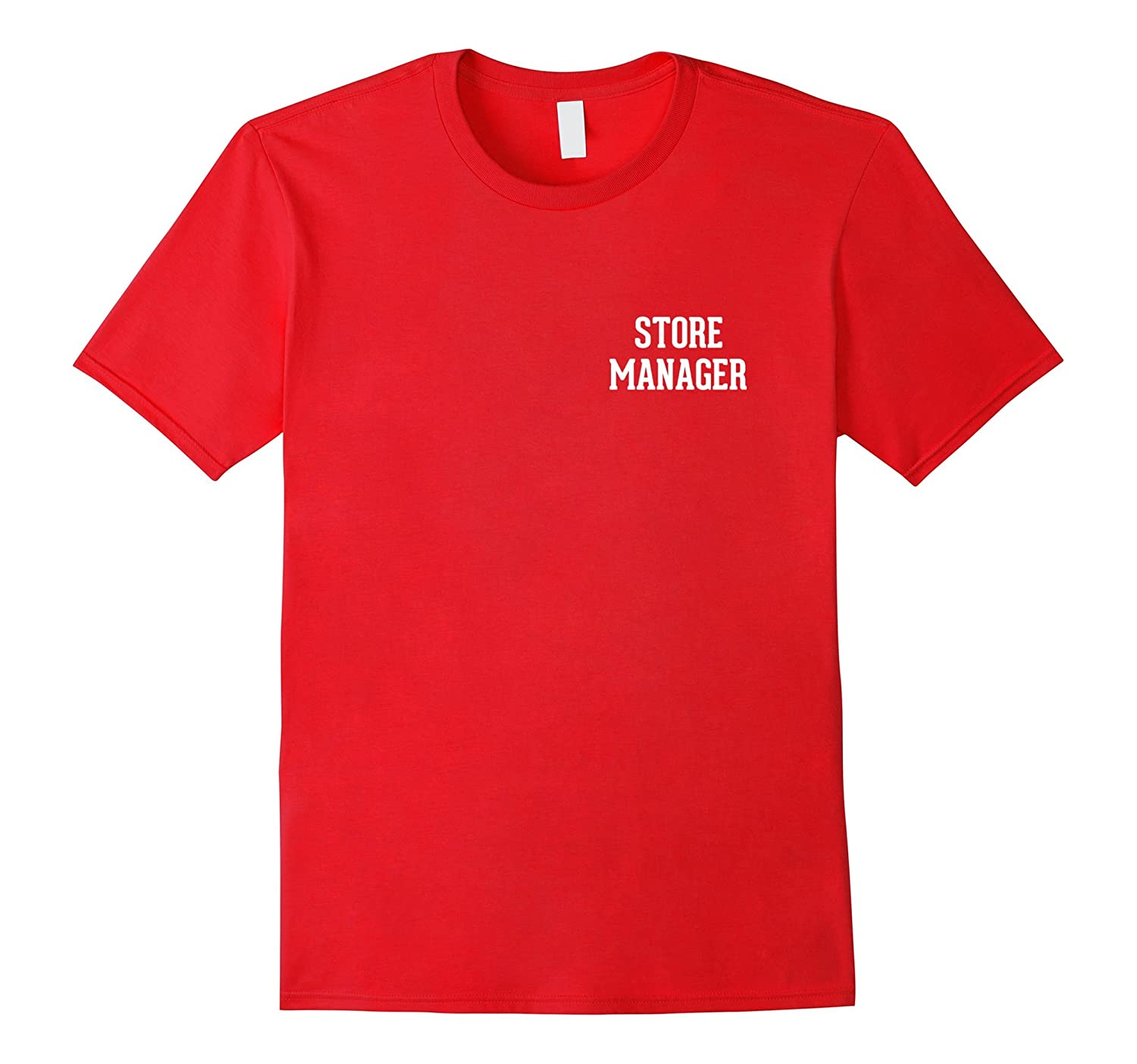 Store Manager Employee Uniform T-Shirt-TD