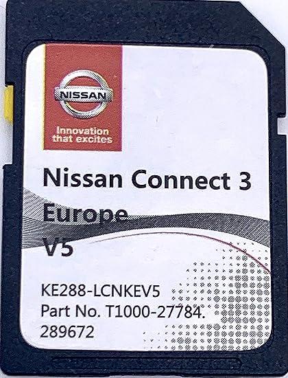 Nissan Connect 3 Navi Update 2017 2018 Sd Karte V3 Europa Navigation