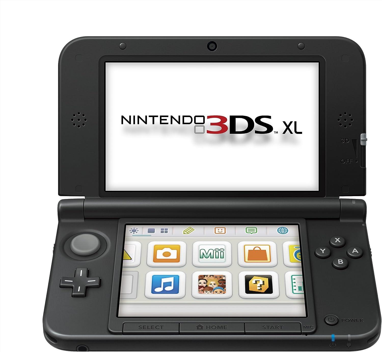 Nintendo 3DS - Consola XL, Color Negro Y Azul: Amazon.es: Videojuegos