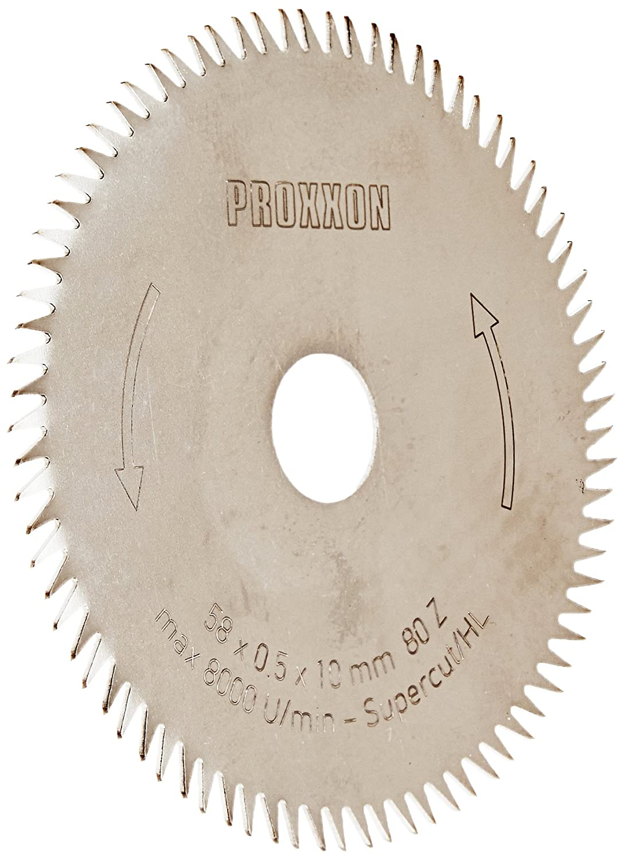 PROXXON 28014 Kreiss/ägeblatt S/ägeblatt SuperCut 80 Z/ähne