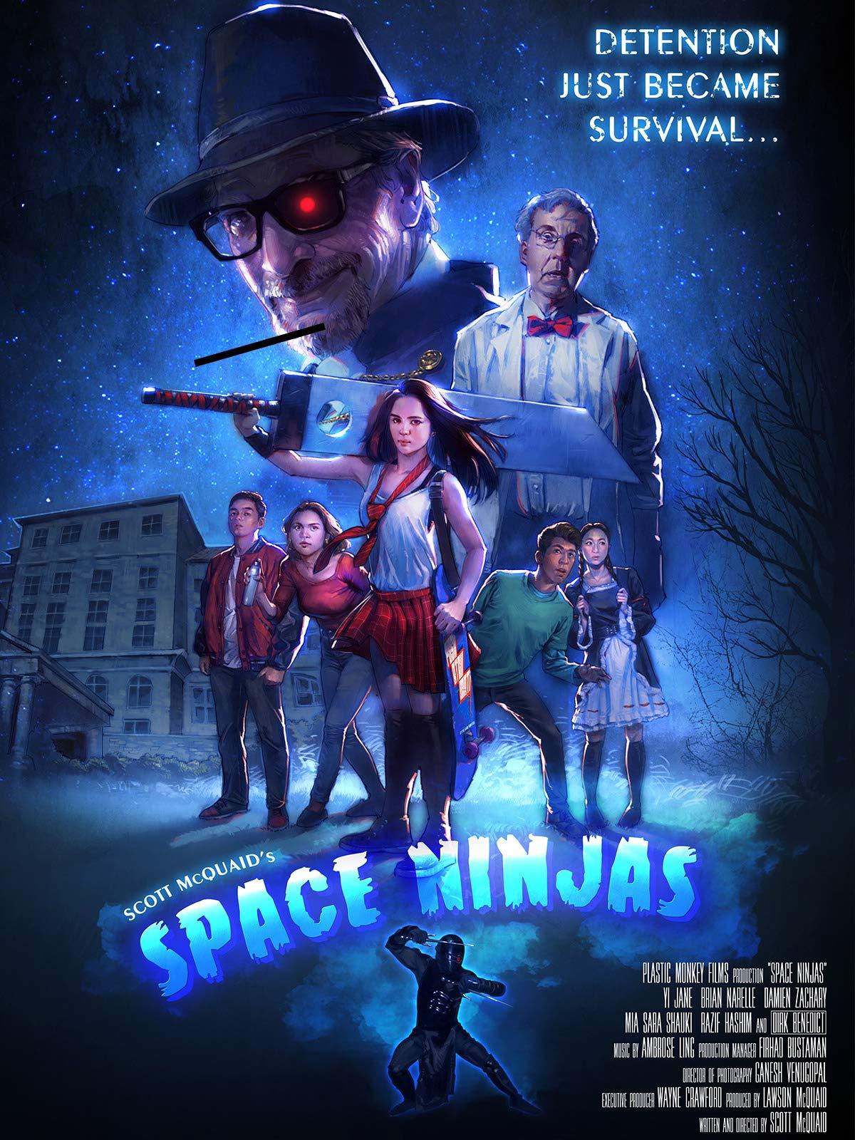 Amazon.com: Space Ninjas: Yi Jane, Dirk Benedict, Brian ...