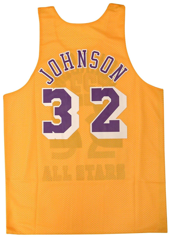 3efb22f679d Amazon.com   Magic Johnson Lakers All Star 1983 Reversible Jersey  (XX-Large)   Sports   Outdoors