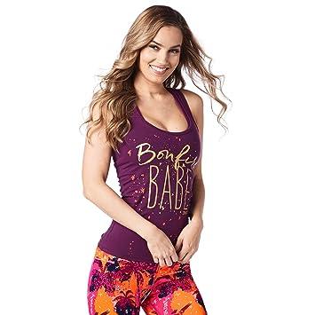 Tops Racerback Bonfire Amazon es Zumba Fitness® Babe Mujer qXxHPnZvTw