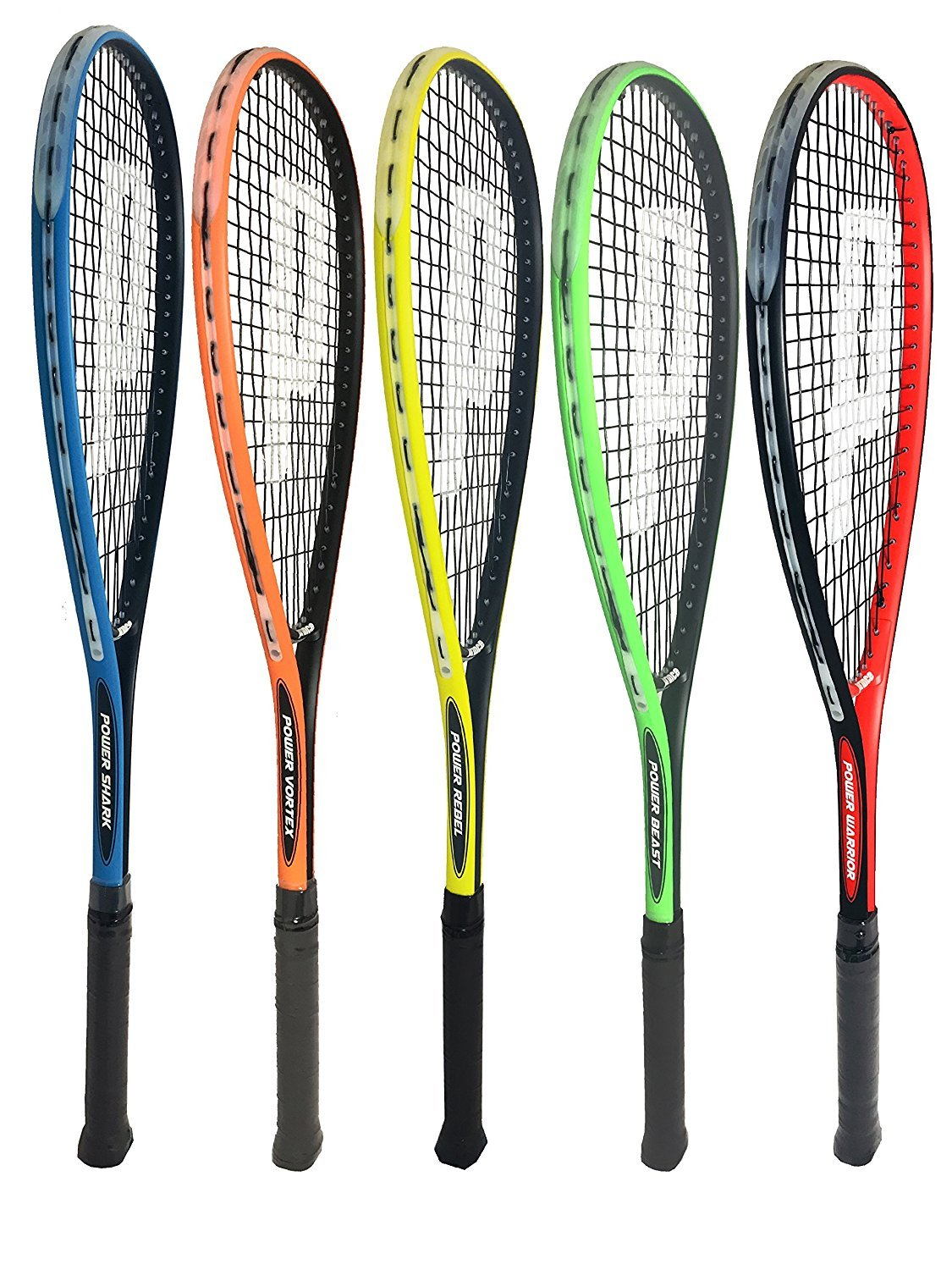 Prince Power Squash Racket inc Full Length Cover (Choice of Warrior, Beast, Rebel, Vortex and Shark)