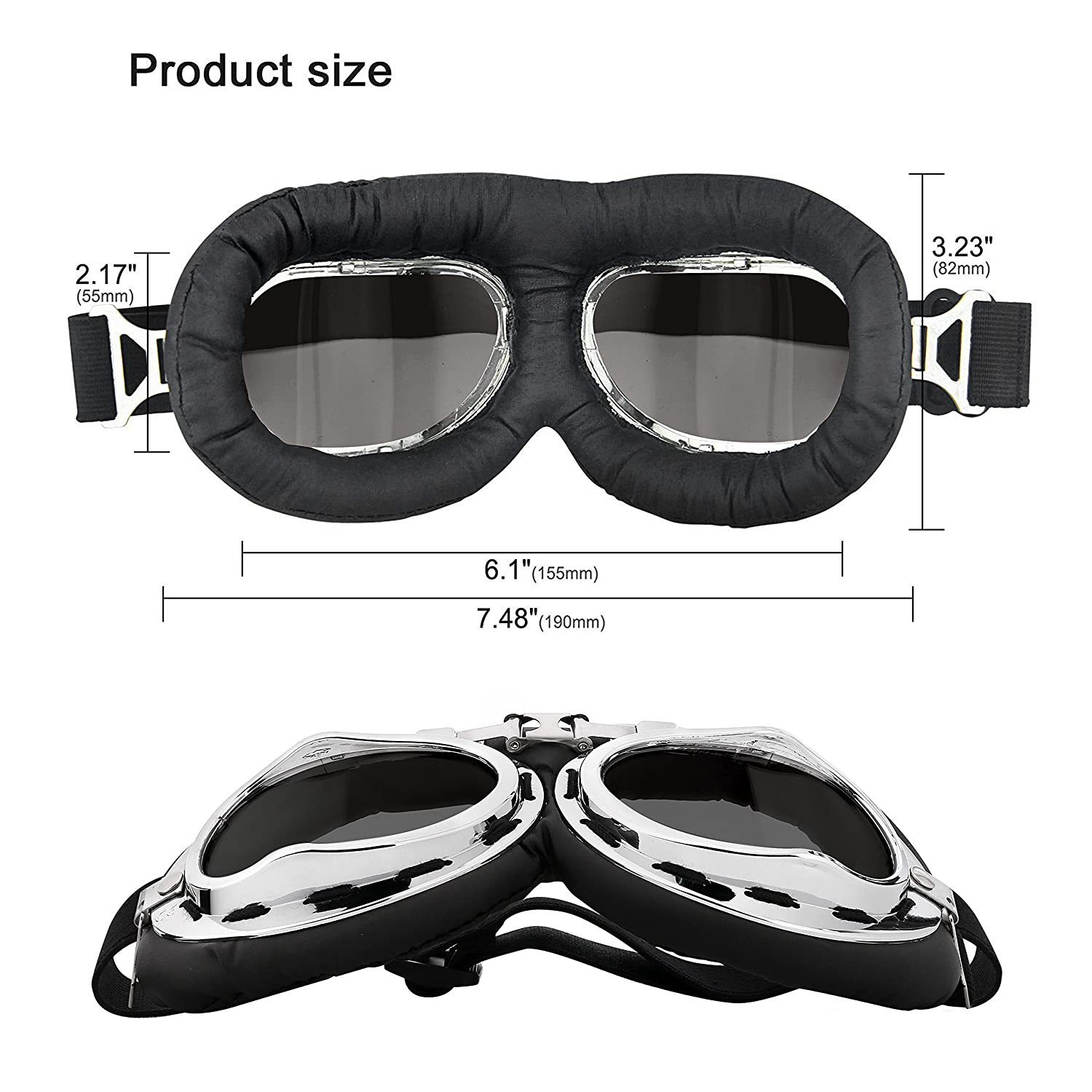 Speedo Speed Socket 2.0 Mirrored Swim Goggle-One Size Black/Silver 12-Pack