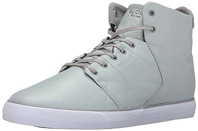 Globe Men's Los Angered Skateboarding Shoe, Grey, ...