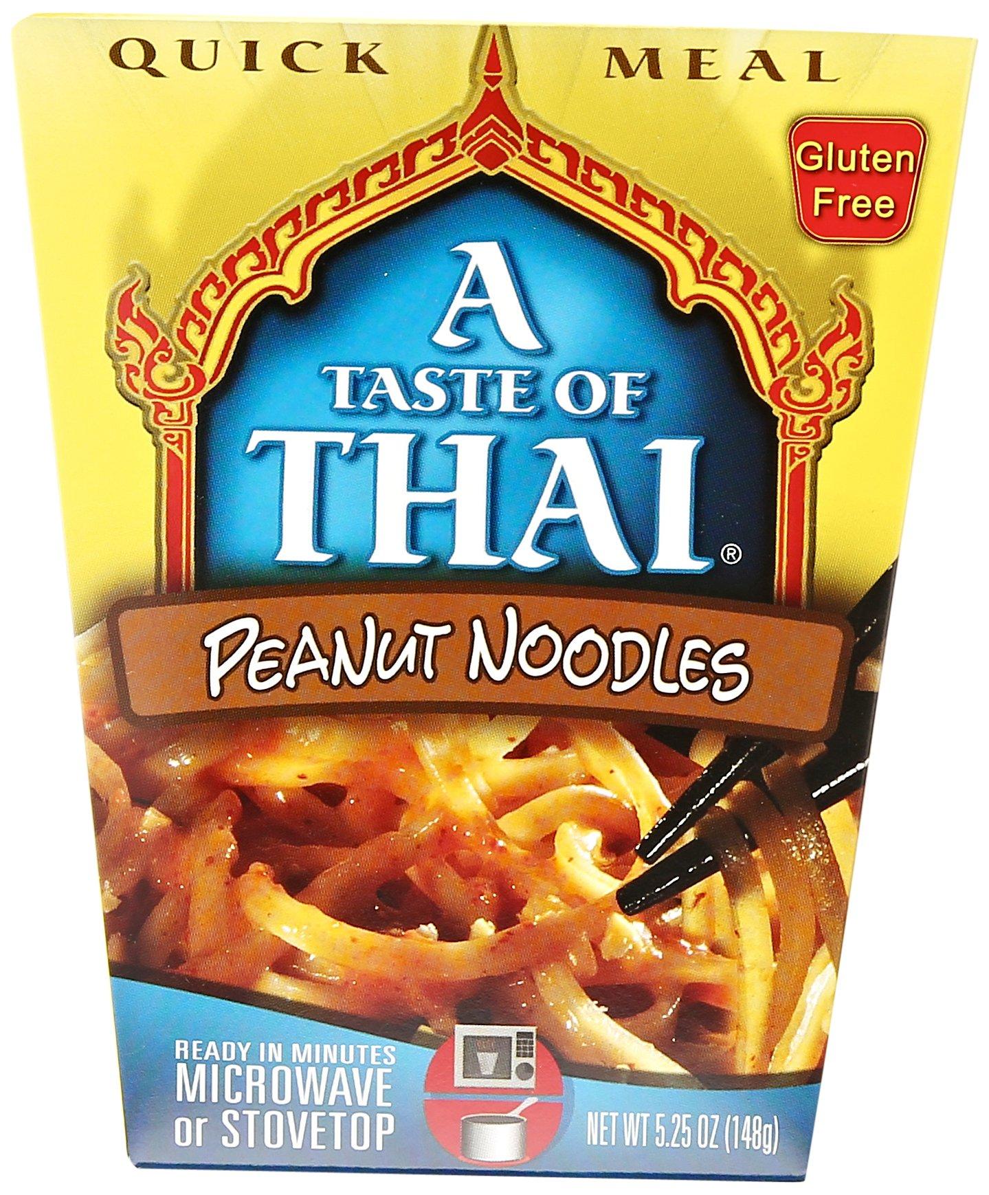 Taste Of Thai Peanut Noodles Quick Meal, 5.25 oz by A Taste of Thai