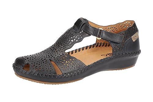 Pikolinos Mocasines de Piel Para Mujer Azul Azul *: Amazon.es: Zapatos y complementos