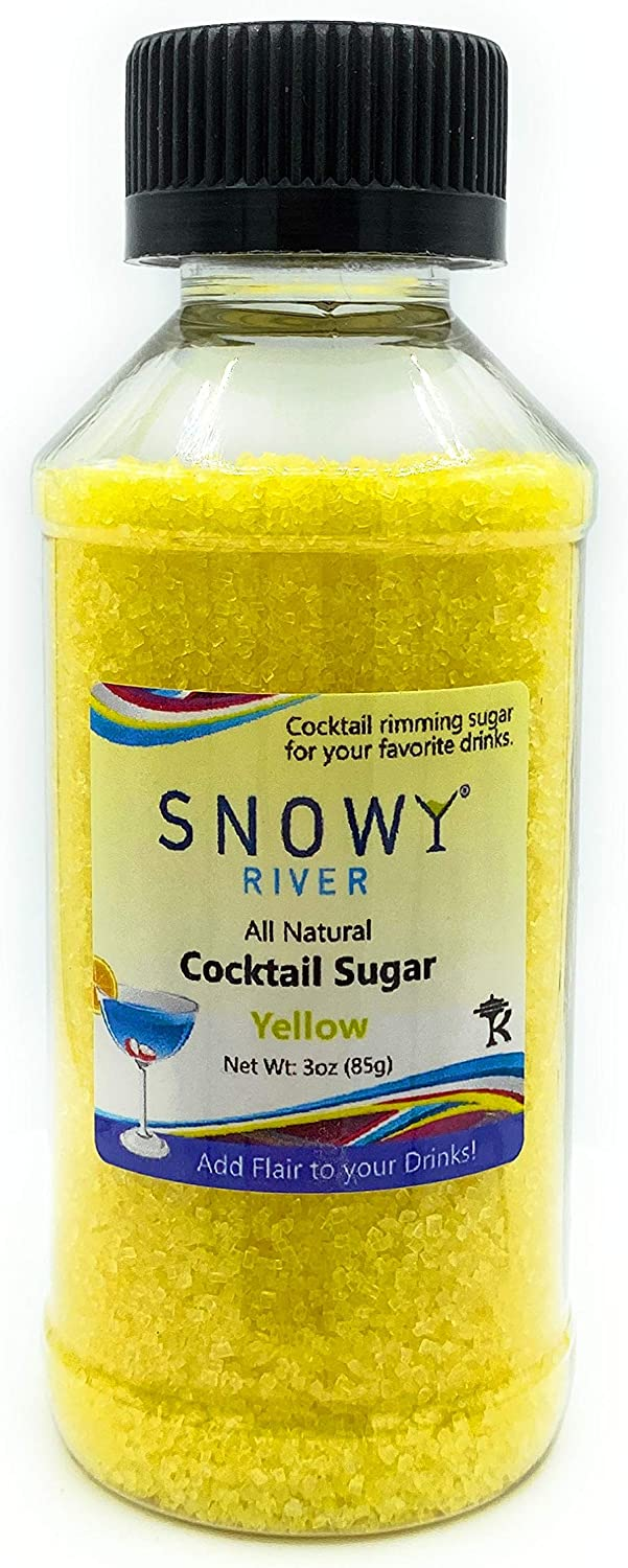 Kosher Certified All Natural Copper Cocktail Sugar 3oz Copper Snowy River Copper Cocktail Rimmer