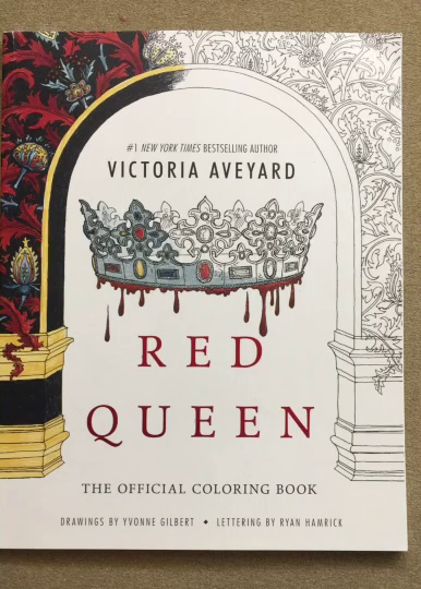 Amazon Com Customer Reviews Red Queen The Official Coloring Book
