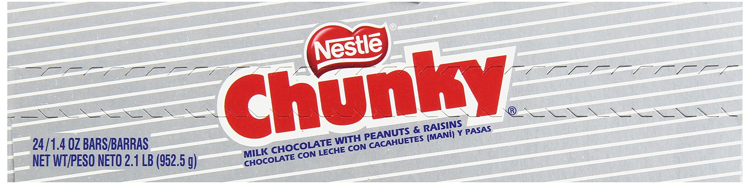 Nestle Chunky Chocolate Single Candy Bars, 1.4 Ounce (Pack of 24) by Chunky (Image #6)