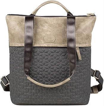 ZWEI Taschen Rucksack FERDI FE16 z Damen Tasche mit