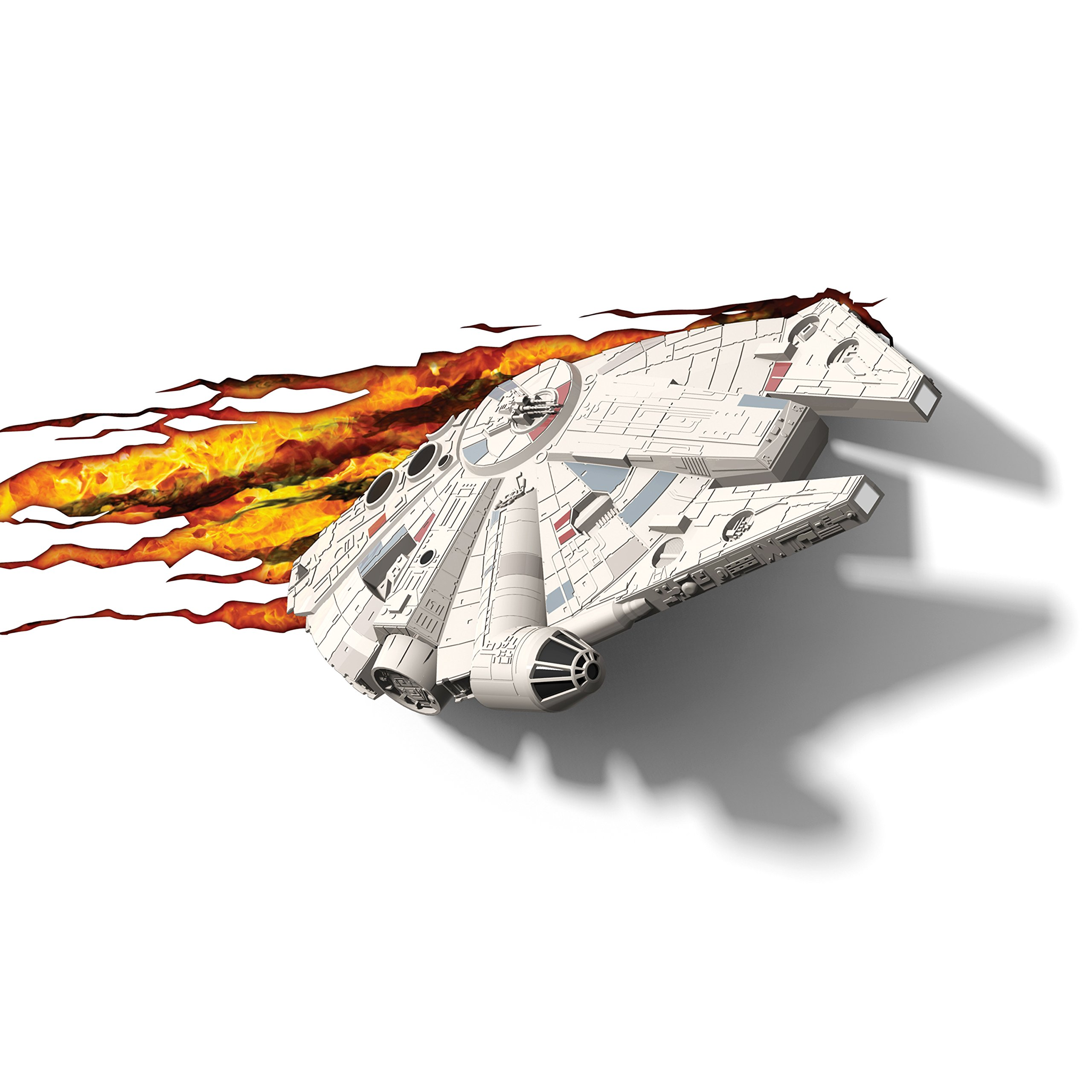 3DLightFX Star Wars Millennium Falcon 3D Deco Light by 3D light FX (Image #1)