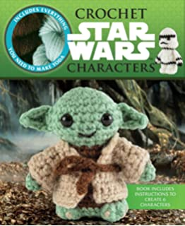 Star Wars Crochet Crochet Kits Amazonde Lucy Collin