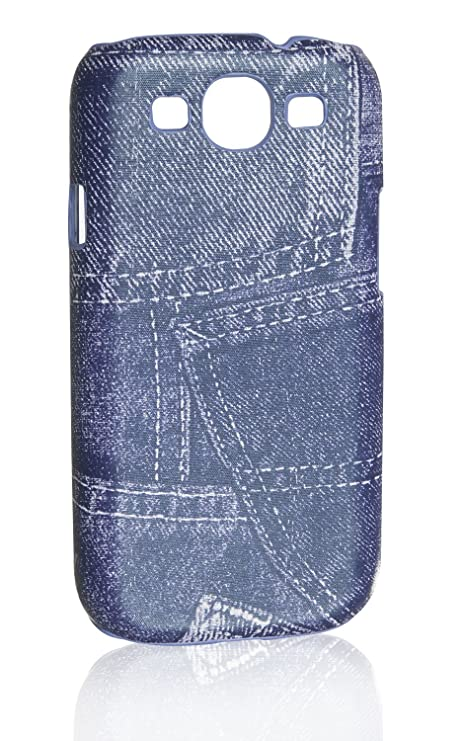 Funda Back Hard Case Cover Carcasa Jeans Look para Samsung ...