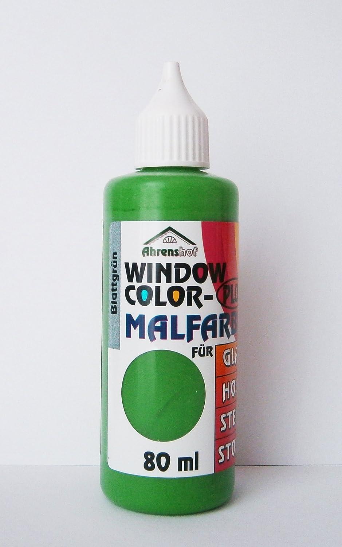window color malfarbe 80ml farbe fenstermalfarbe 24 farben glas 6 65 100ml ebay. Black Bedroom Furniture Sets. Home Design Ideas